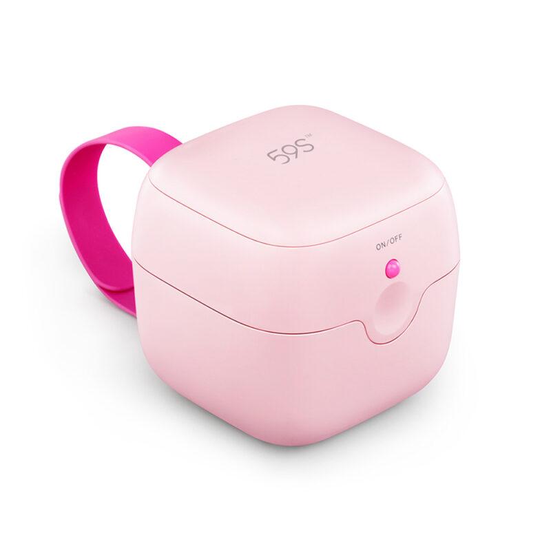 UVC Sterilisations-Box MINI in Pink