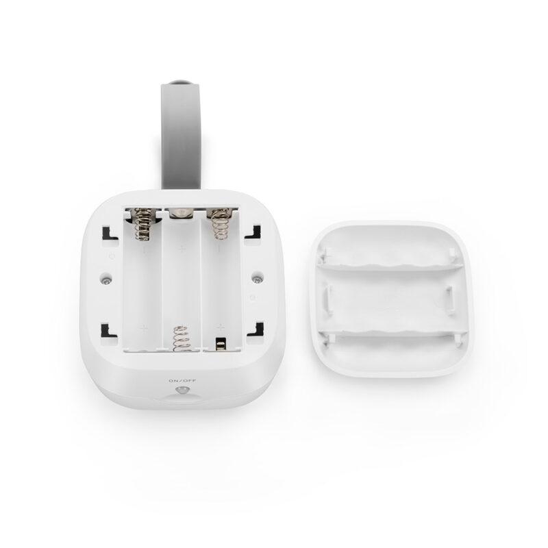 Batteriefach UVC Sterilisations-Box MINI in Weiss