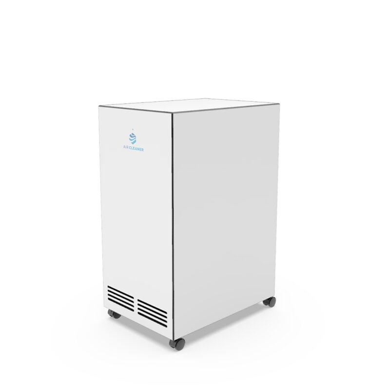Rückseite UVC Luftreiniger AC-100pro von Air Cleaner in Weiss