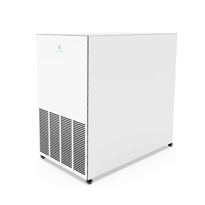 Rückseite UVC Luftreiniger AC-1600pro von Air Cleaner in Weiss