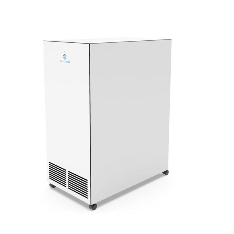Rückseite UVC Luftreiniger AC-500pro von Air Cleaner in Weiss