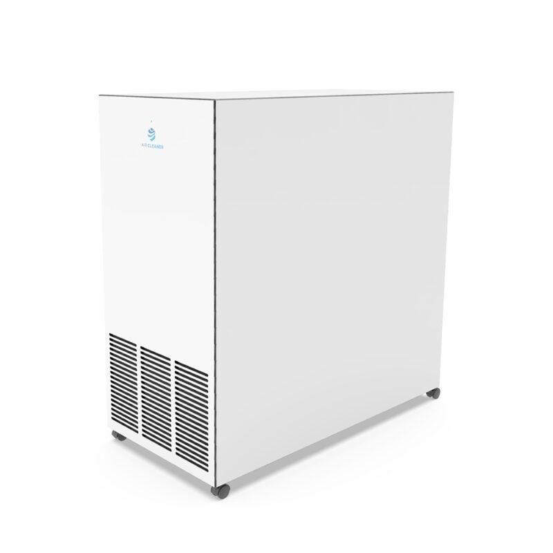Rückseite UVC Luftreiniger AC-800pro von Air Cleaner in Weiss